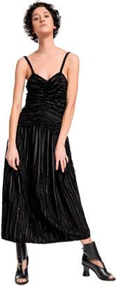 Max Studio frayed jacquard dress