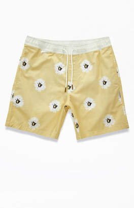 Charlie Holiday Cream Marrakech Swim Trunks