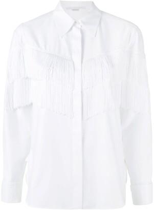 Stella McCartney Alina fringe shirt