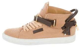 Buscemi 100MM Ponyhair Sneakers