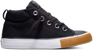 Converse Boys' Chuck Taylor All Star Street Slip Mid Sneakers