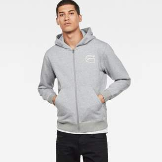 G Star Monthon Hooded Zip Sweater