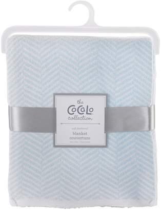 CoCalo Voile Herringbone Knitted Blanket
