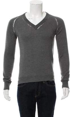Christian Dior Wool V-Neck Sweater