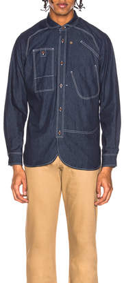 Junya Watanabe Cotton Denim Shirt
