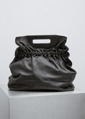 Rachel Comey black leather state bag $518 thestylecure.com