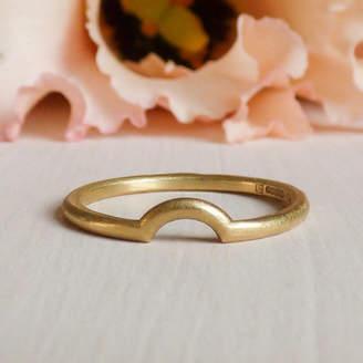Macha Shakti Ellenwood 18ct Fairtrade Gold Ethical Wedding Ring