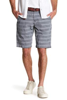 UNION DENIM Arcadia Striped Chino Shorts