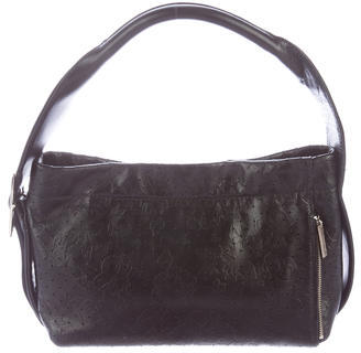 Yohji Yamamoto Perforated Shoulder Bag $290 thestylecure.com