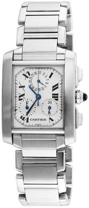 Cartier Heritage  Men's Tank Francaise Watch