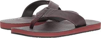 Volcom Men's Fader Faux Leather Sandal
