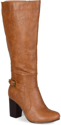 Journee Collection Women Carver Wide Calf Boot Women Shoes