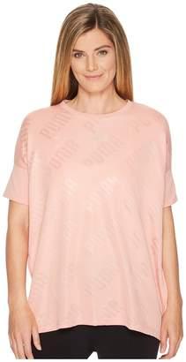 Puma En Pointe Wide Tee Women's T Shirt