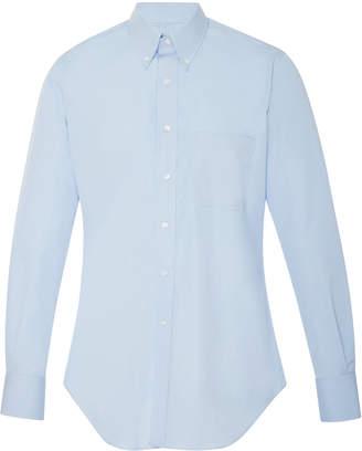 Thom Browne M'O Exclusive Cotton-Poplin Dress Shirt