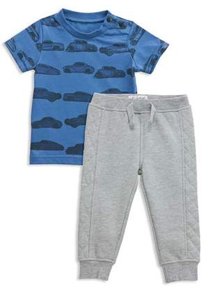 Sovereign Code Boys' Car-Print Tee & Jogger Pants Set - Baby