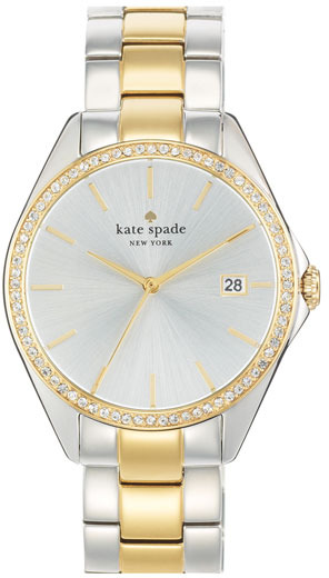 Kate Spade New York 'seaport Grand' Crystal Bracelet Watch