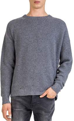 The Kooples Distressed Cashmere Sweater