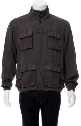 John Elliott Linen Pullover Shirt