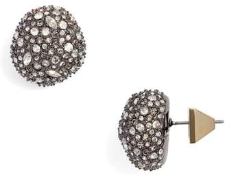 Alexis Bittar Elements Pave Stud Earrings