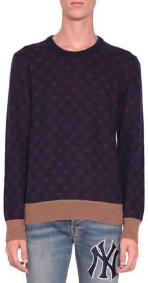 Gucci Gg Jacquard Wool Sweater