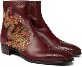 9c1e5daa1ca Gucci Men's Boots | over 100 Gucci Men's Boots | ShopStyle