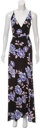 Yumi Kim Silk Floral Wrap Dress w/ Tags