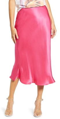ENGLISH FACTORY Flare Midi Skirt