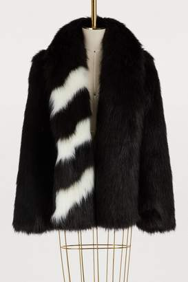 Off-White Off White Fake fur coat
