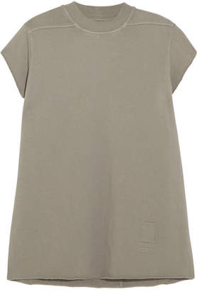 Rick Owens - Cotton-jersey Top - Gray $400 thestylecure.com