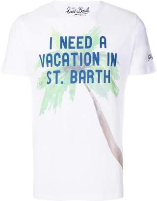 MC2 Saint Barth I need a vacation printed T-shirt
