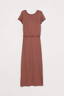 H&M V-back Dress - Orange