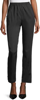 eskandar Seamed Narrow Trousers