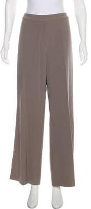 St. John High-Rise Wide-Leg Pants