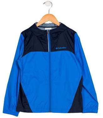 Columbia Boys' Lightweight Zip-Up Jacket
