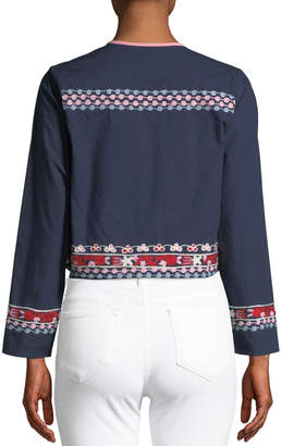 Nordic Pure Belle Embroidered Topper Jacket