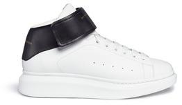 Alexander McQueenAlexander McQueen 'Larry' high top platform leather sneakers