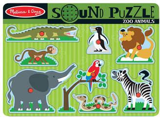 Melissa & Doug Zoo Sound Puzzle