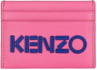 Kenzo Leather Logo Card Holder