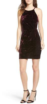 Speechless Velvet Body-Con Dress