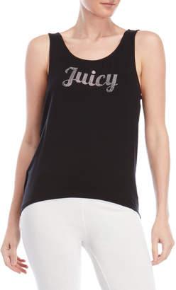 Juicy Couture Rhinestone Logo Tank Top