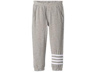Chaser Kids Extra Soft Love Knit Joggers w/ Leg Stripes (Toddler/Little Kids)