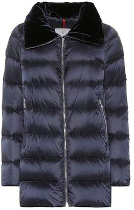 Moncler Torcol velvet-collar down coat