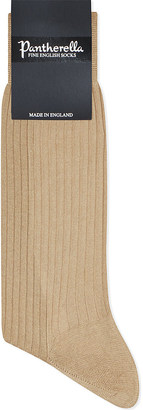 Pantherella Short ribbed cotton socks $15.50 thestylecure.com
