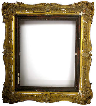 One Kings Lane Vintage Antique French Mirror - Cliffe's Edge Antiques