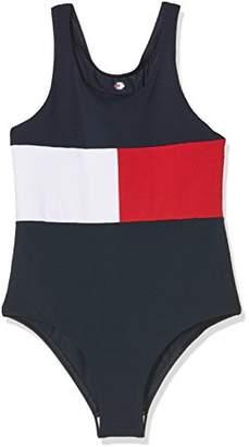 Tommy Hilfiger Girl's Swimsuit,(Manufacturer Size: 8-10)