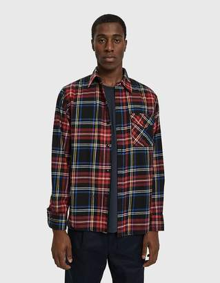 Beams Guide Flannel Check Shirt