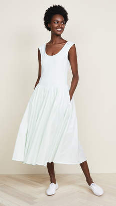 Rebecca Taylor Voile Jersey Dress