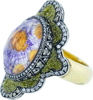 Sevan Biçakci Carved Flower Ring
