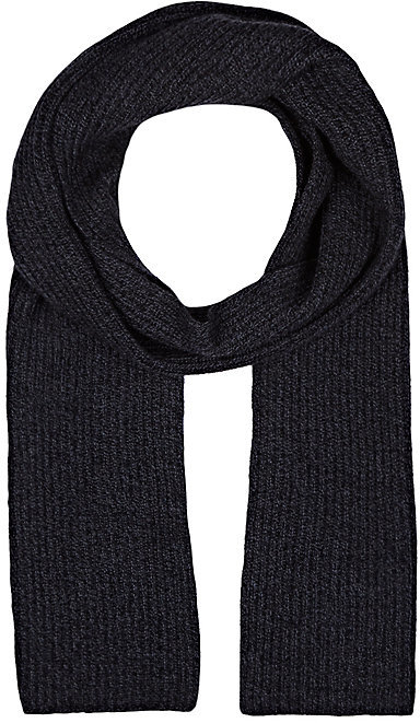 Barneys New York BARNEYS NEW YORK MEN'S RIB-KNIT CASHMERE SCARF