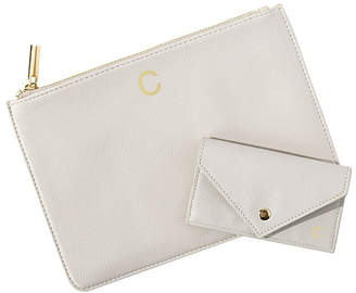 Cathy's Concepts Cathy Concepts Personalized Polyurethane Clutch and Envelope Wallet Set